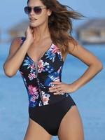 Sunflair Flower Line Swimsuit