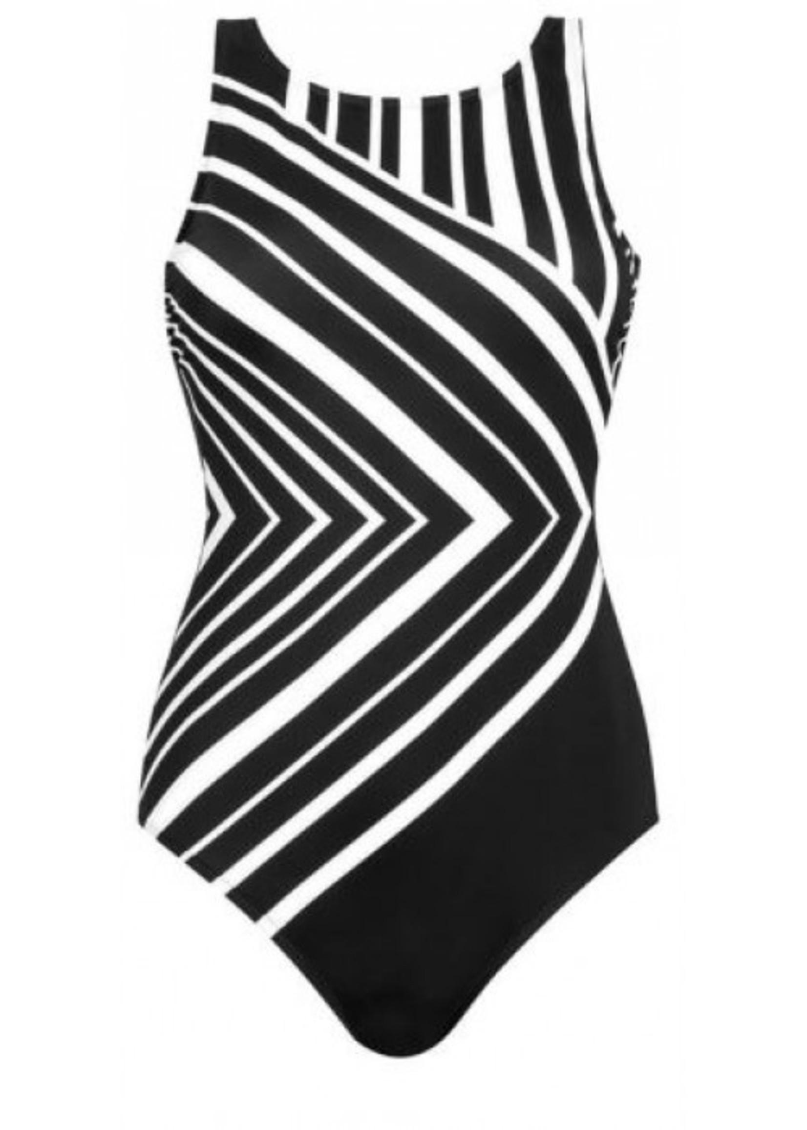 Amoena Andalusia High Neck Mastectomy Swimsuit
