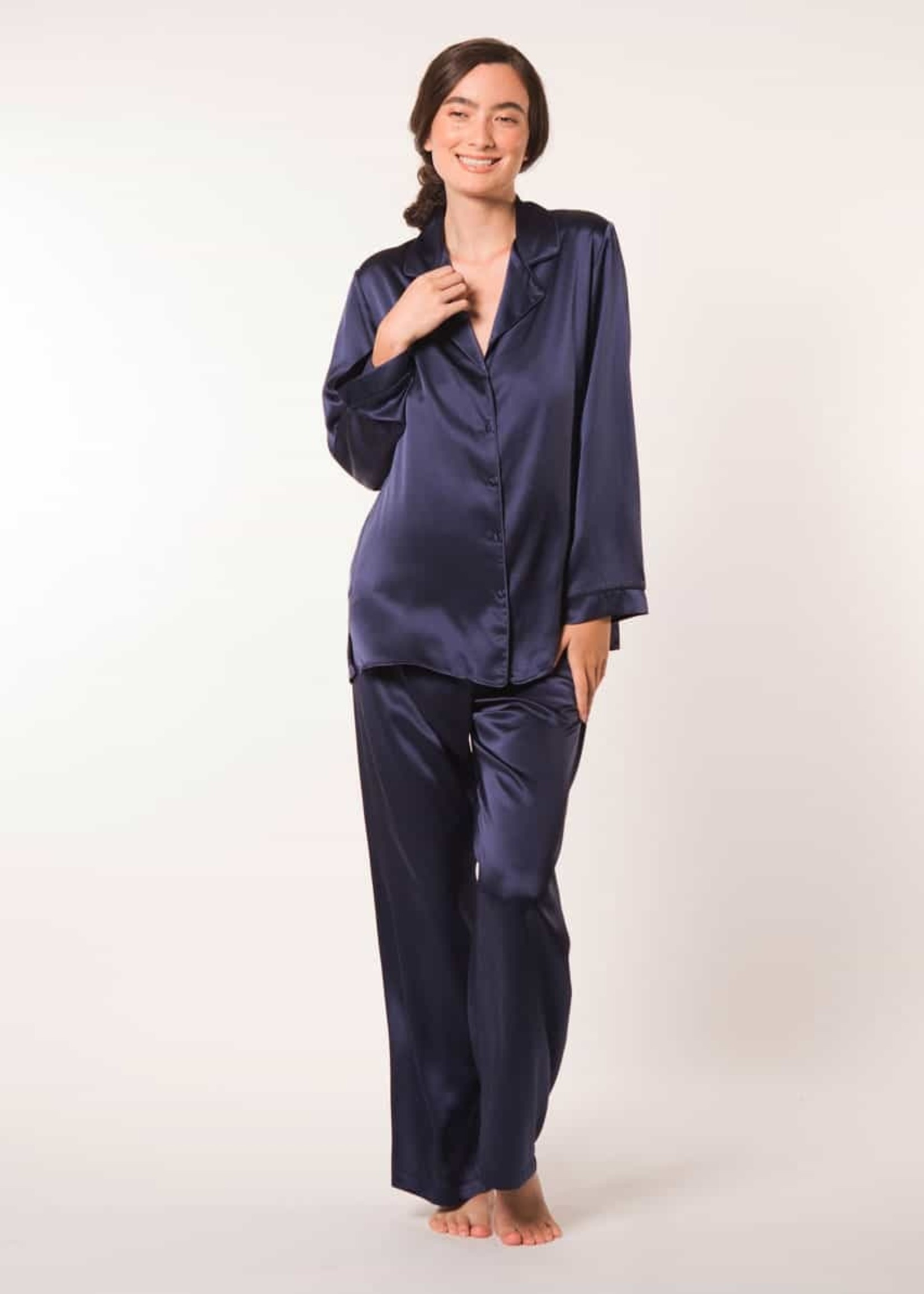 Christine Silk Pajama Set