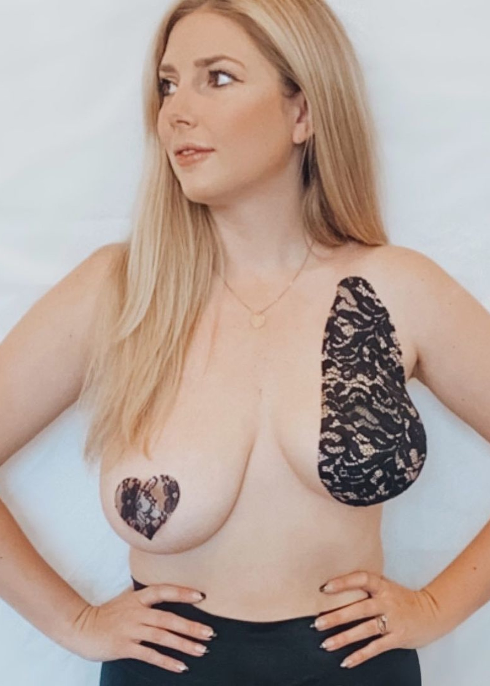 My Perfect Pair Lace Breast Tape