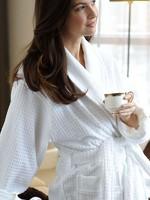 Kayanna / Mansfield Jacquard Terry Velour Robe