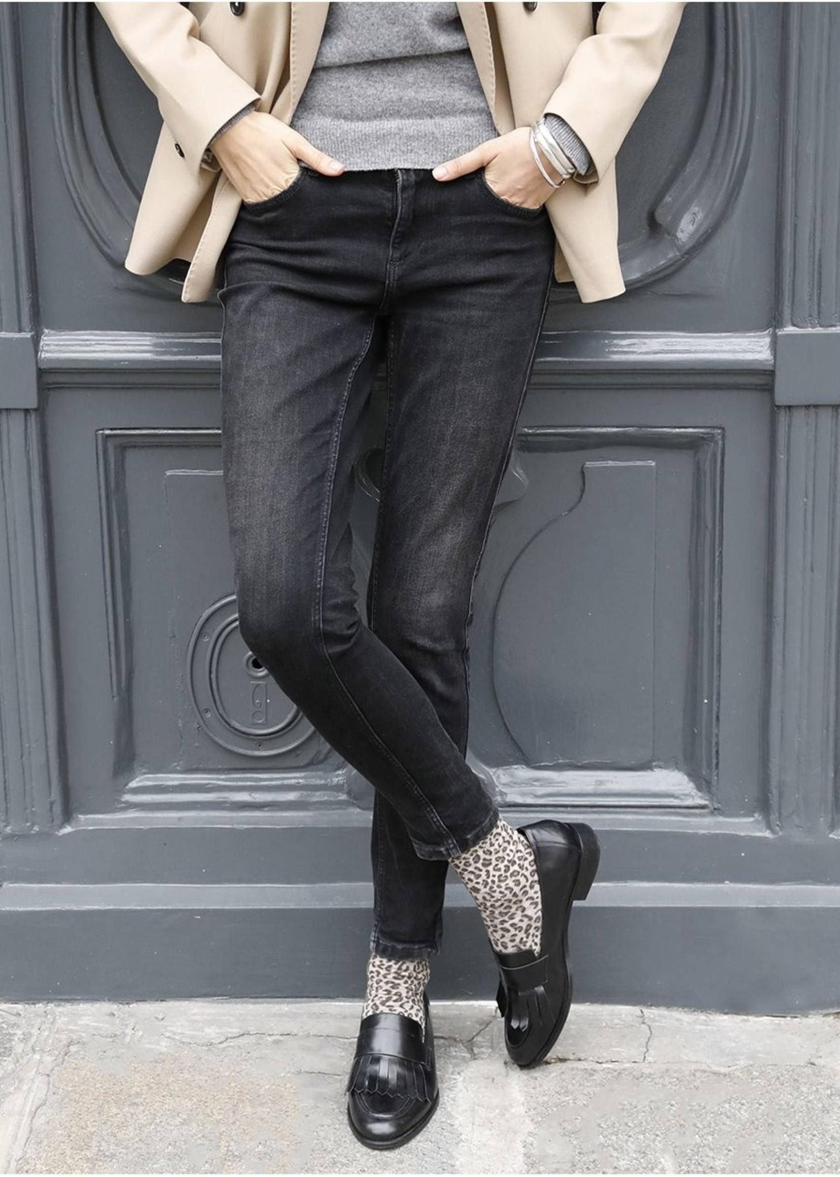 Bleuforet Merino Wool Leopard Socks