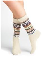 Bleuforet Jacquard Cashmere Socks