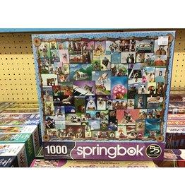 Springbok Animal Quackers Puzzle 1000 pc
