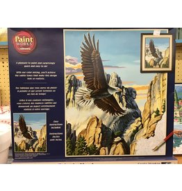 Dimensions Soaring Eagle Paint by Number