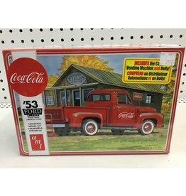 amt '53 Ford F-100 Pickup Truck Coca-Cola 1/25 Scale