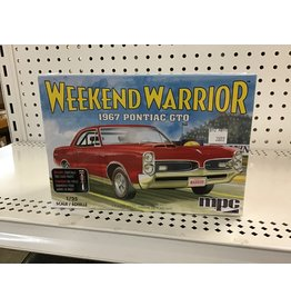 MPC/Round2models Weekend Warrior 1967 Pontiac GTO 1/25 Scale
