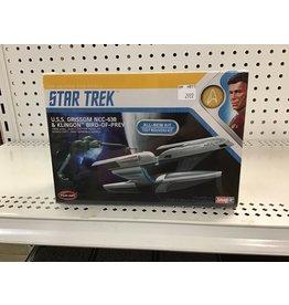 Polar Lights Star Trek USS Grissom & Klingon Bird of Prey 1/1000 Scale