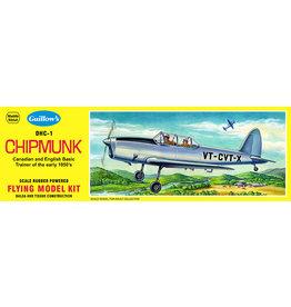 Guillow's DHC-1 Chipmunk Balsa Kit 17 inch Wingspan