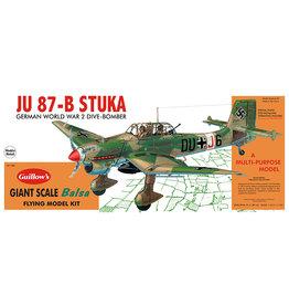 Guillow's Ju 87-B Stuka 34 1/4 Inch Balsa Kit