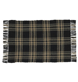 Park Designs Sturbridge Rag Rug 2'x6' Black