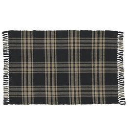 Park Designs Sturbridge Rag Rug 3'x5' Black