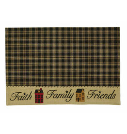 Park Designs Sturbridge Home Placemat Black