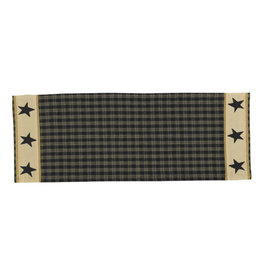 Park Designs STURBRIDGE STAR TABLE RUNNER 13X36