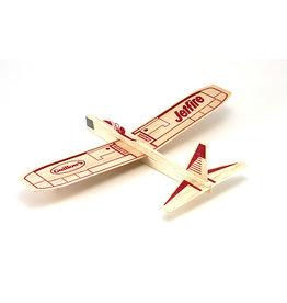 Guillow's Jetfire Balsa Glider