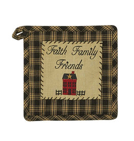 Park Designs Sturbridge Home Potholder Black