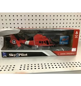 NewRay Sky Pilot Dauphin HH-65C helicopter pre-made kit