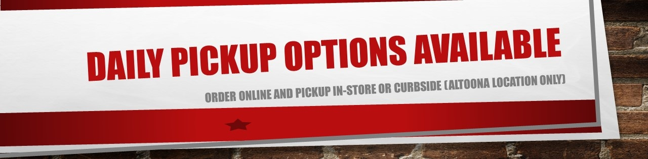 Daily In-store, Curbside Pickup Available From Altoona Location