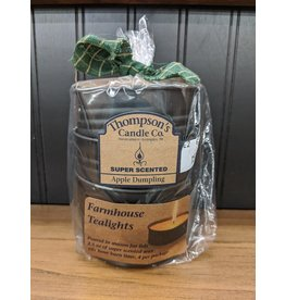 Thompson's Candle Co. Tealights Apple Dumpling