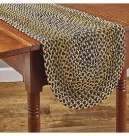 """Park Designs Sunflower Braided Table Runner - 54""""L"""