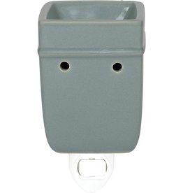 Elanze Designs Ceramic Plug-In Warmer - Gray