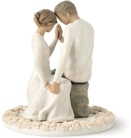 DEMDACO Willow Tree Around You Cake Topper
