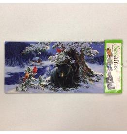 Evergreen Sassafras Insert Winter Black Bear