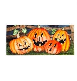 Evergreen Sassafras Insert Jack-o-Lanterns Haunting Halloween