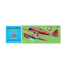 Guillow's A6M2-N Rufe Floatplane Balsa Kit 16 in Wingspan