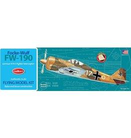 Guillow's FW-190 Balsa Kit 16 1/2 Inch Wingspan