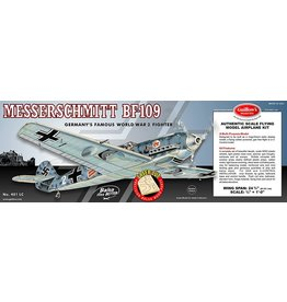 Guillow's Messerschmitt Bf-109 Balsa Kit 24 3/8 in. Wingspan