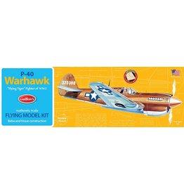 Guillow's P-40 Warhawk Balsa Kit 16 1/2 in Wingspan