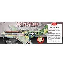 Guillow's P-51 Mustang Balsa Kit 27 3/4 in. Wingspan