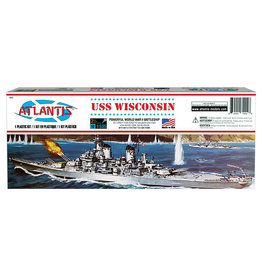 Atlantis Models USS Wisconsin BB-64 1/535 Scale
