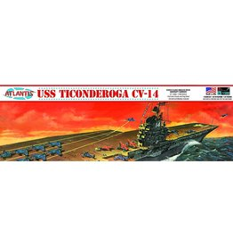 Atlantis Models USS Ticonderoga CV-14 1/500 Scale