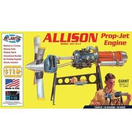 Atlantis Models Allison Prop-Jet Engine 1/10 Scale