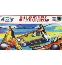 Atlantis Models H-25 Army Mule HUP-2 Helicopter 1/48 Scale