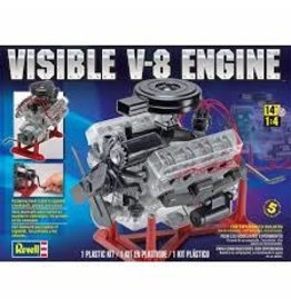 Revell Visible V-8 Engine 1/4 Scale