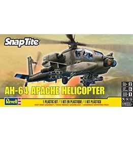 Revell Snap Tite AH-64 Apache Helicopter 1/72 Scale