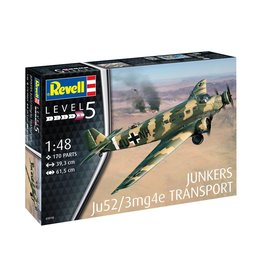 Revell Junkers Ju52 /3mg4e Transport 1/48 Scale