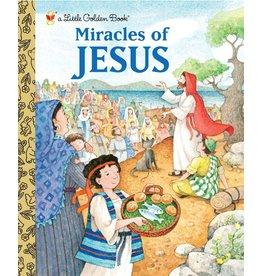 Little Golden Books Miracles of Jesus