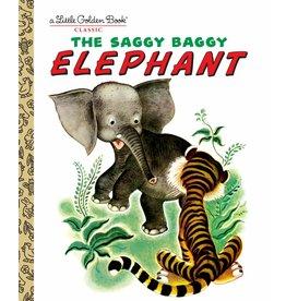 Little Golden Books Saggy Baggy Elephant