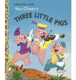 Little Golden Books Three Little Pigs