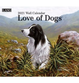 Lang Calendar 2021 Love of Dogs