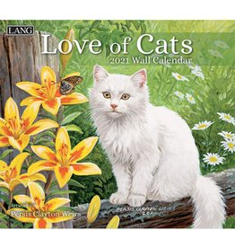 Lang Calendar 2021 Love of Cats