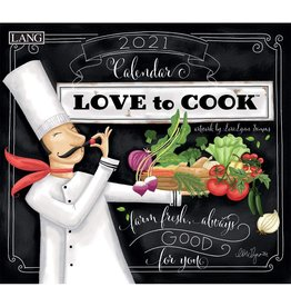 Lang Calendar 2021 Love to Cook