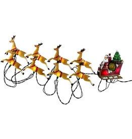 Kurt S. Adler Santa's Sleigh Ride 10 Light Novelty Set