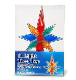 Darice Tree Topper 11 Light Star