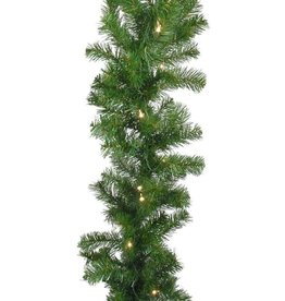 Direct Export Company 9' Norway Pine Garland with Lights