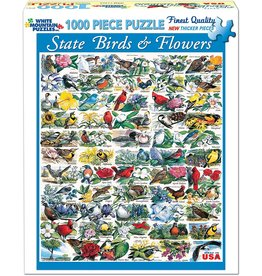White Mountain State Birds & Flowers 1000 pc Puzzle